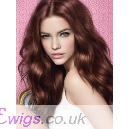 Good Looking Long Lace Front Wavy Synthetic Wig