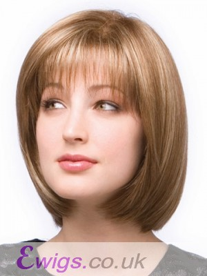 Erika Full Lace Silky Straight Bob Wig
