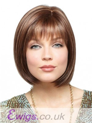 100% Remy Human Hair Full Lace Bob Wig