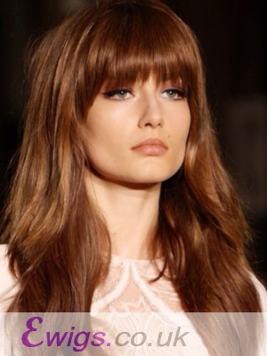 Durable Capless Remy Human Hair Wig