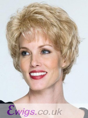 Short Waves Capless Remy Human Hair Wig