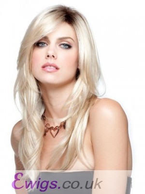 Pleasant Straight Synthetic Capless Wig
