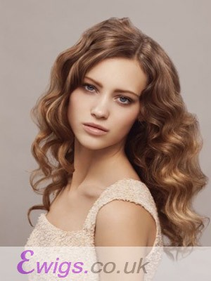 New Style Lace Front Wavy Synthetic Wig