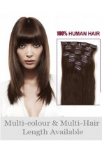 """24"""" Gorgeous Straight Remy Human Hair Long Extension"""