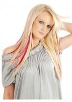 "20"" Half Head 3 Pcs Clip In Human Hair Extensions"