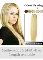 Straight Synthetic Full Head Extension