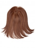 Medium Straight Remy Human Hair Clip in Hairpieces