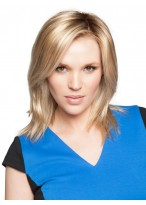 """12"""" Straight Synthetic Clip in Hairpiece"""