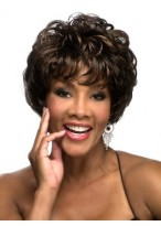Graceful Short Wavy Synthetic Wig