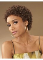Classic Curly Short Capless Wig