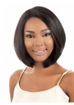 Fashion Capless Straight African American Wig
