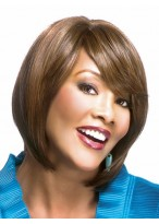 Lovely Straight Remy Human Hair African American Wig
