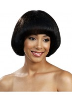 Glamorous Lace Front Straight African American Wig