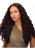 Attractive Curly Lace Front Synthetic Wig