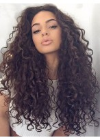 Stylish Curly Lace Front Remy Human Hair Wig
