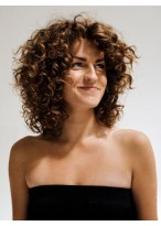 Beautiful Curly Lace Front Synthetic Wig