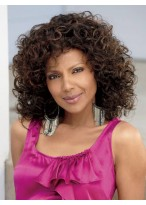 Medium Loose Curly Synthetic Capless Wig