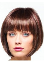 Lace Front Sharp Asymmetrical Angled Bob Wig