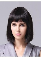 Comfortable Straight Capless Synthetic Bob Wig