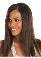 Marvelous Straight Human Hair Lace Front Wig