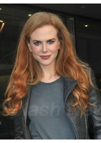 Nicole Kidman Pretty Wavy Lace Front Synthetic Wig