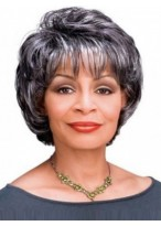 Capless Short Wavy Synthetic Wig