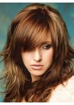 Shimmering Wavy Capless Brazilian Remy Hair Wig