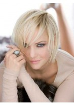Pretty Lace Front Remy Human Hair Wig