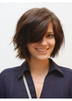 Natural Straight Capless Remy Human Hair Wig