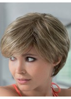 Silk Straight Short Lace Front Human Hair Wig