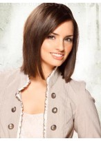 Full Lace Straight Popular Remy Human Hair Wig