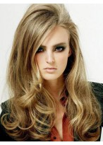 Gorgeous Lace Front Wavy Remy Human Hair Wig