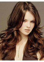 Classic Long Wavy Lace Front Human Hair Wig