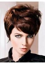 Popular Wavy Remy Human Hair Capless Wig