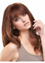 Lace Front Long Wavy Remy Human Hiar Wig