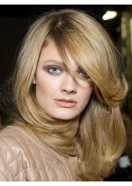 Brilliant Straight Lace Front Remy Human Hair Wig