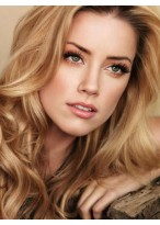 Elegant Wavy Lace Front Synthetic Wig