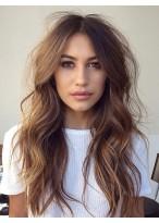 Seductive Human Hair Wavy Lace Front Wig