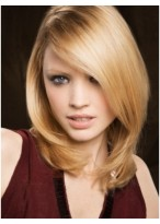 Attractive Straight Synthetic Lace Front Wig