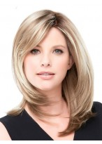Smooth Straight Human Hair Lace Front Wig