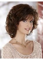 Medium Length Synthetic Wig