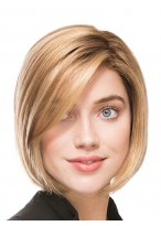 Fashionable Straight Lace Front Synthetic Wig
