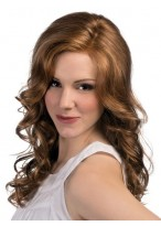 Long Lace Front Synthetic Wig with Spiral Wavy