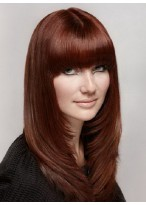 Wonderful Straight Synthetic Capless Wig