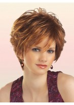 Short Wavy Chic Synthetic Wig