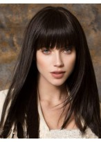 Elegant Long Capless Straight Synthetic Wig