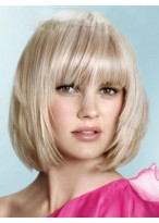 Popular Straight Capless Synthetic Wig