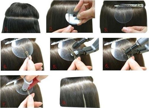 how to get rid of glue from tape extensions