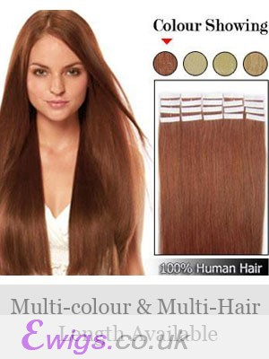 """Fine 16"""" 20pcs Tape In Hair Extensions"""
