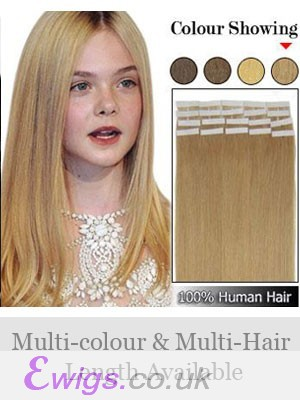 """Amazing 16"""" 20pcs Tape In Hair Extensions"""